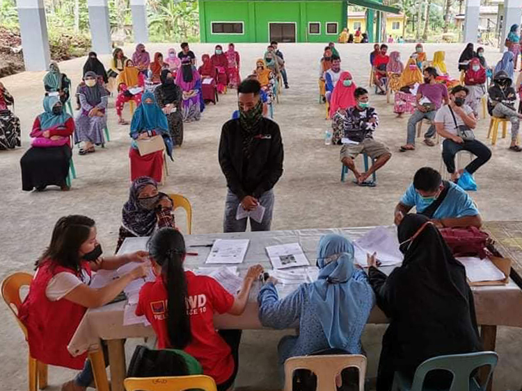 PAY-OUT OF LIVELIHOOD ASSISTANCE GRANT (LAG) IN NUNUNGAN, LANAO DEL NORTE