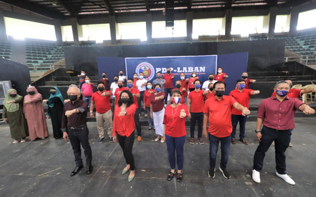 MAYOR MAMAY SHOWS SUPPORT TO TEAM QUIBRANZA-DIMAPORO