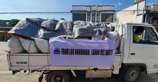 NUNUNGAN EXTENDS HELP TO QUAKE VICTIMS IN COTABATO