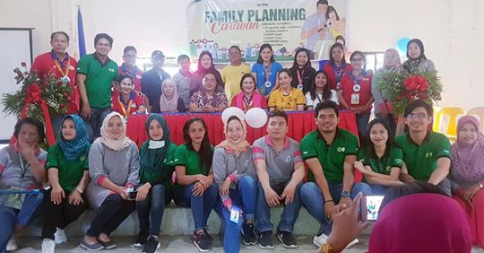 POPCOM REITERATES THE IMPORTANCE OF FAMILY PLANNING DURING A CARAVAN IN NUNUNGAN TOWN