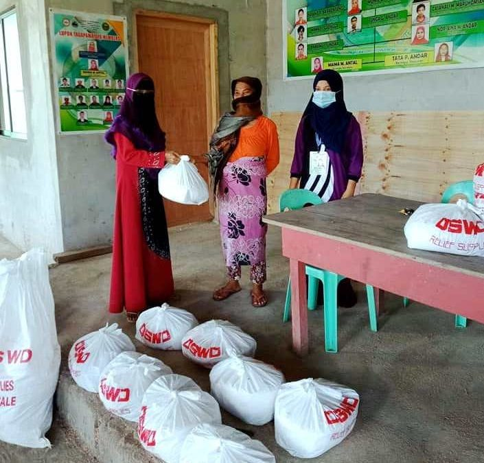 DSWD GIVES FOOD ASSISTANCE TO VULNERABLE GROUPS IN NUNUNGAN