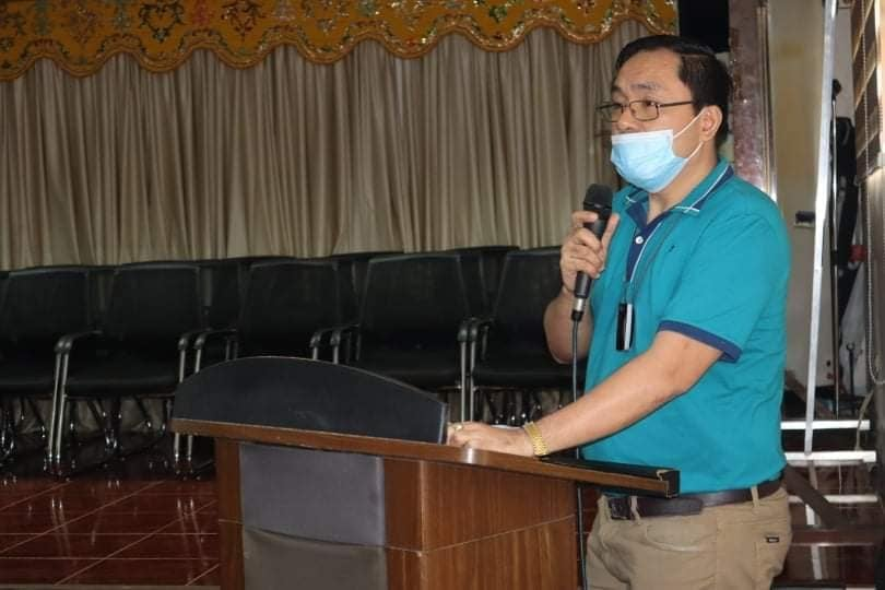 MAYOR MAMAY EXPRESSES ELATION ON PGLDN OFFICIALS' PLEDGE TO HELP PROTECT MT. INAYAWAN